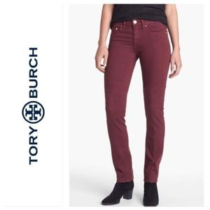 Tory Burch size 25 jeans. Like new